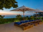 VM sunset from pool terrace