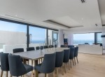 12. Long Table Indoor Dining area