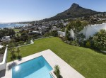 23. Garden and Lions Head view